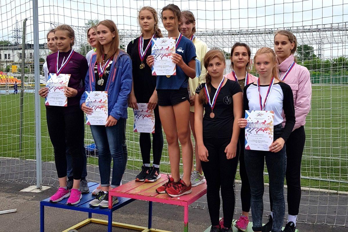 В Кимрах прошло первенство области по легкой атлетике среди юношей и девушек до 16 лет
