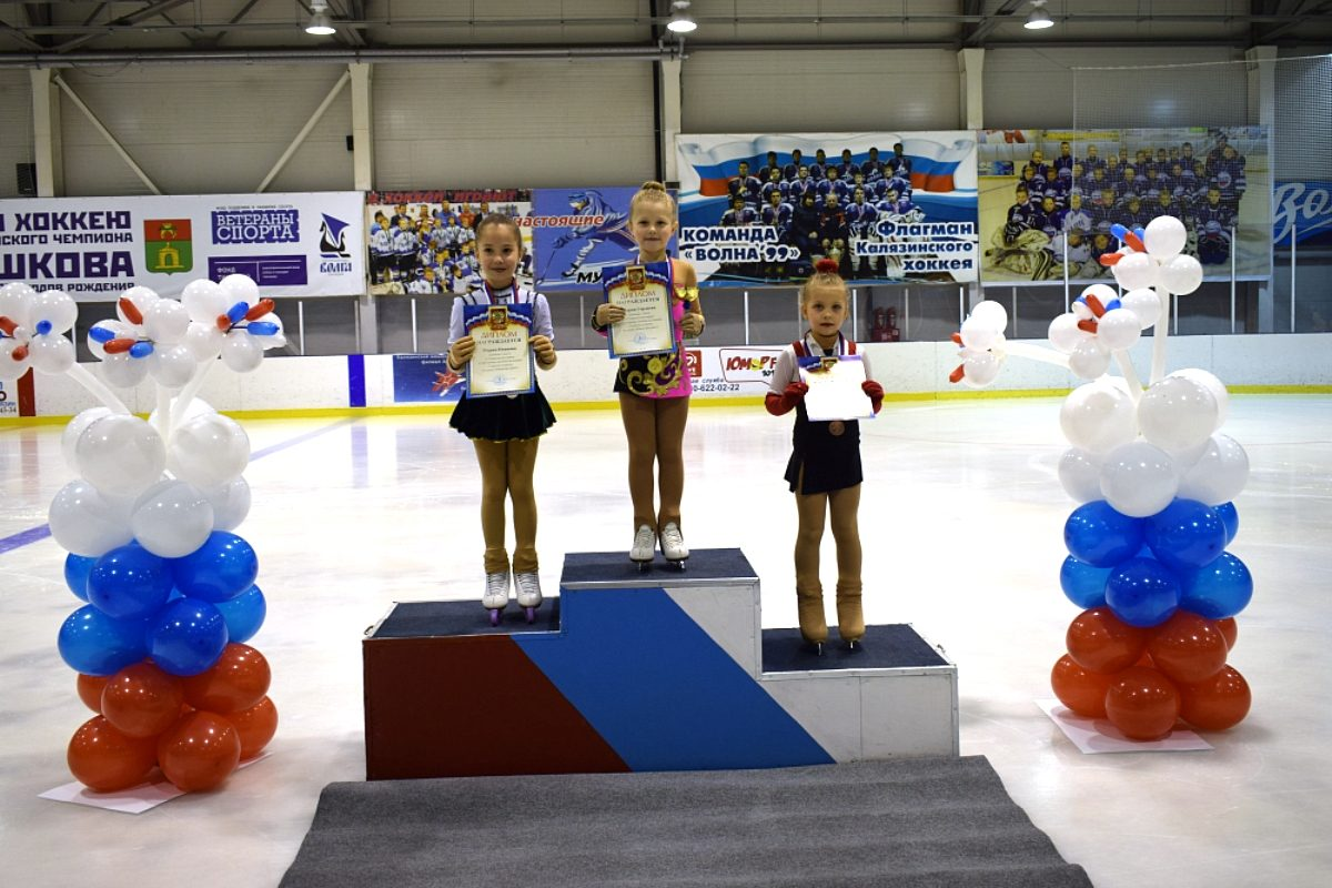 Фигуристы Кимр, Калязина и Твери завоевали золото Кубка области