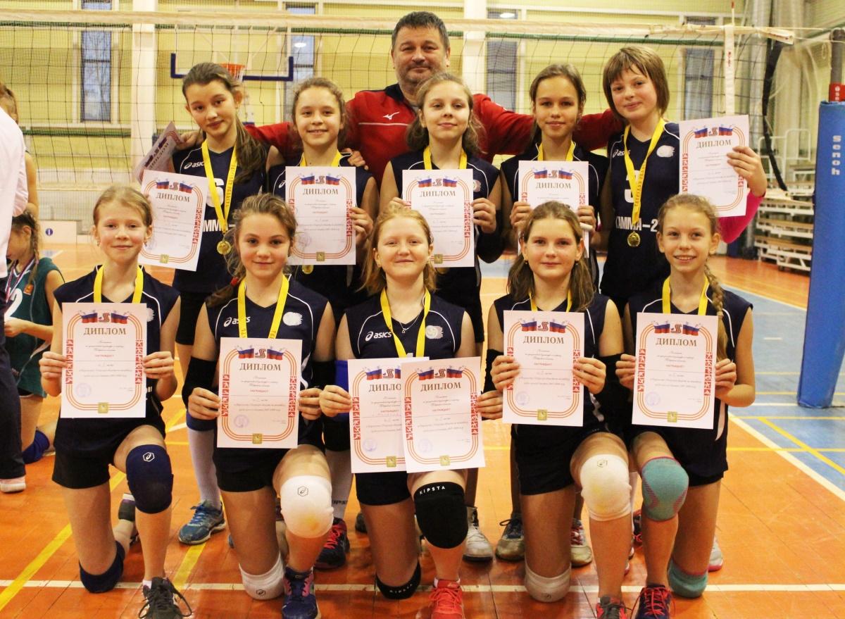 Девушки из Калязина и юноши из Твери выиграли первенство области по волейболу