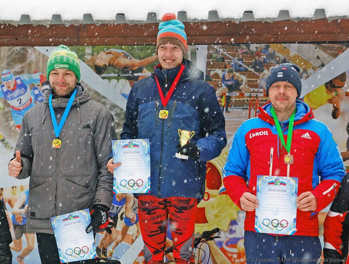 Кимряк Иван Рычков занял второе место на новогоднем турнире по зимнему триатлону в Конаково
