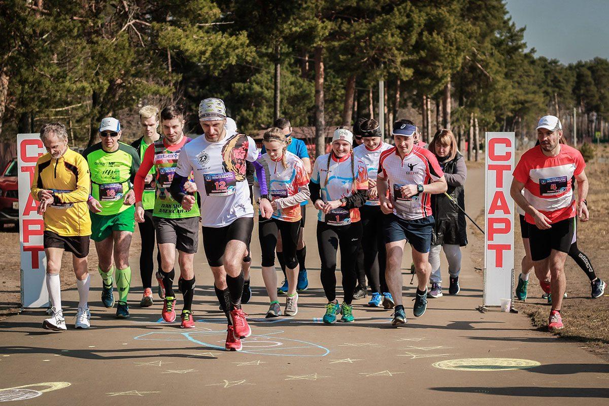 За 6 часов пробежал победитель сверхмарафона в Кимрах более 73 километров